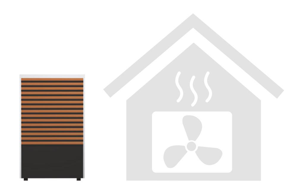 Neuinstallation einer Monobloc-Wärmepumpe im Neubau