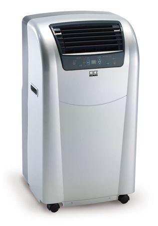 Lokale ruimte-airconditioner RKL 300 Eco S-Line met luchtafvoerslang - kleur zilver